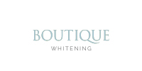 Boutique whitening logo